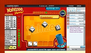 Pictures Online Free Play Yahtzee Party online with