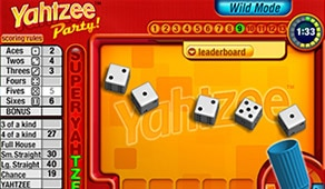 free yahtzee online game no download