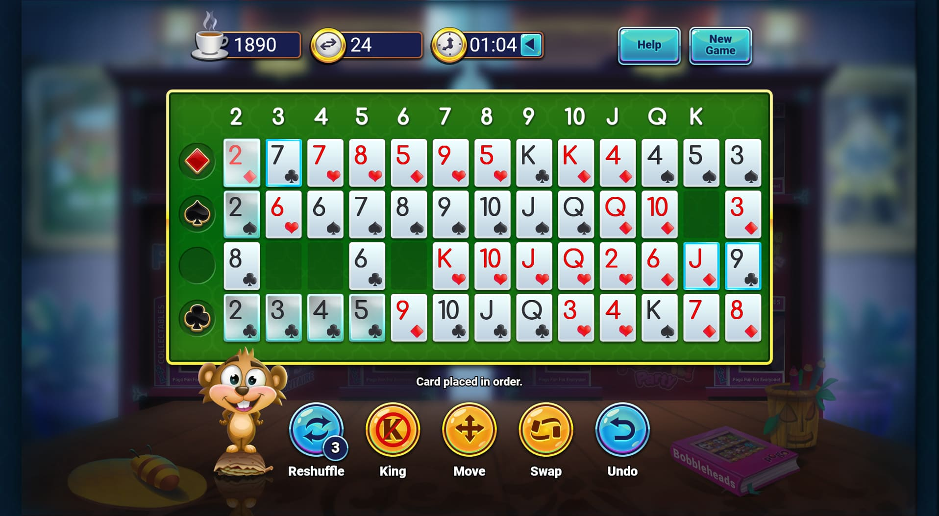 pogo addiction solitaire hd  online solitaire game  club