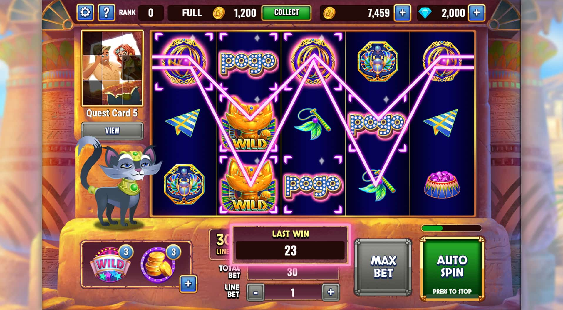 Pogo free casino games sigma slot machines for sale